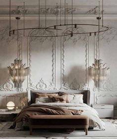 Home Room Design, Home Interior Design, Living Room Designs, Home Bedroom, Bedroom Decor, Modern Classic Interior, Rococo Furniture, Paint Colors For Living Room, Luxury Home Decor