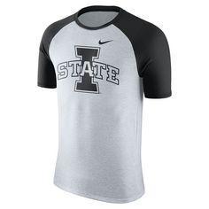 Men's Nike Iowa State Cyclones Raglan Tee, Size: