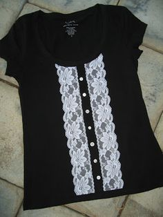 this is my department (craft blog): T-shirt Refashioned