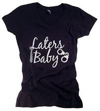 50 Fifty Shades of Grey T-Shirt Trilogy Apparel Laters Baby