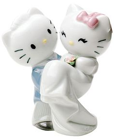 Nao by Lladro Collectible Figurine, Hello Kitty Gets Married - Home Decor - for the home - Macy's