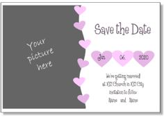 34 best save the date wedding announcement samples images on