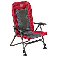 Timber Ridge Ultimate Outdoor Adjustable Chair with Adjustable Legs Supports 300lbs
