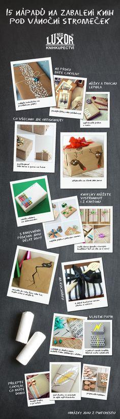 NEOLUXOR: 15 nápadů na balení knižních dárků