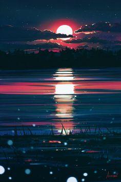 ArtStation - Midnight, Alena Aenami