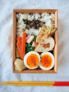 Healthy Japanese Vegetable Bento Lunch (Sansho, Aromatic Prickly Ash on Rice)|弁当