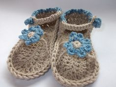 Ravelry: barehooks Ity Bity Sandals