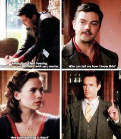 Agent Carter S02E03 Better Angels - Are you teaching a class