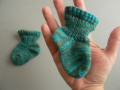 Better Than Booties Baby Socks by Ann Budd  by 100% pura lana,