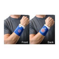 Chicago Cubs Wrist or Arm Jerseys FanBand #ChicagoCubs #Cubs #MLB #FlyTheW