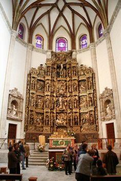 Retablo de la Capilla del Obispo en la Plaza de la Paja de Madrid