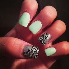 Mint Green Cheetah