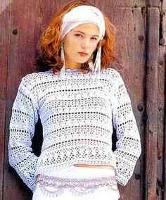 Crochet sweater. — Crochet by Yana