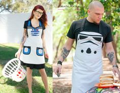 Star Wars Inspired Cooking Aprons | Craziest Gadgets - @Bethany Shoda Thompson