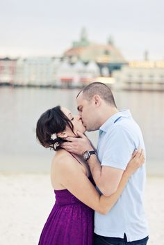 Charlotte and Seán's Disney's Boardwalk Inn Engagement Shoot // Rudy + Marta Photography