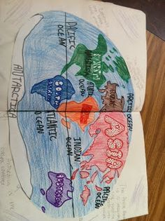 Project book for Geography