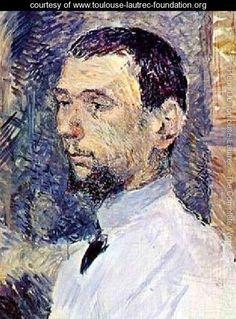 The Artist Francois Gauzi - Henri De Toulouse-Lautrec - www.toulouse-lautrec-foundation.org
