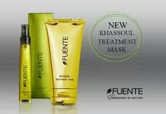 Fuente Rhassoul Treatment Mask  #hair #hairstyle #hairstylist #glamour #beauty #cosmetics #fuente #fuenteinternational #treatment #luxury #luxe #thebest #mask #treatment #rhassoul #moroccanlava