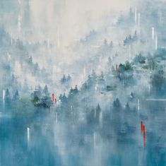 Paintings – gina sarro landscapes - Days that last forever - Inquire Abstract Landscape, West Coast, Mists, This Is Us, Thankful, Photo And Video, Artist, Landscapes, Paintings