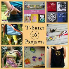 16 Fun Tee Shirt Craft Projects | FiberArtsy.com