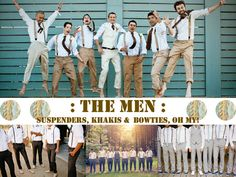 WEDnesday : the men {groomsmen, that is!}by chartreuse and a twist