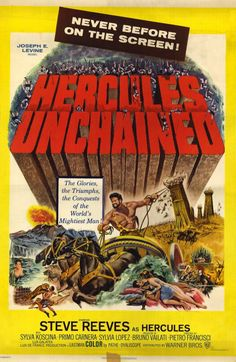 1960s movies | Hercules Unchained Movie Posters From Movie Poster Shop