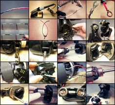 """The Vintage Singer Sewing Machine Blog: The Complete """"How to Re-wire a Potted Motor"""""""