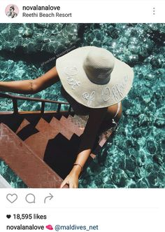 074e4b7add1 Custom Out of Office sequins sun floppy beach hat by FearlessMasterpiece on  Etsy