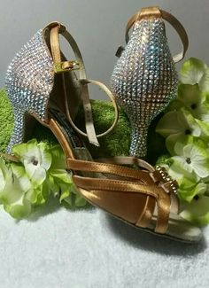 Customised by Kwerki: Salsa Dance Shoes