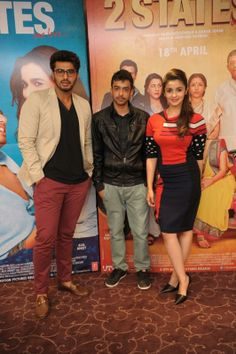 Alia and Arjun head to London for 2 States promotion | PINKVILLA