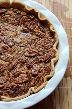Pumpkin Pecan Pie!!! Perfect combination of flavors!