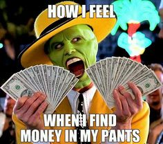 Finding Money Meme | Slapcaption.com