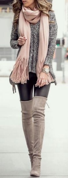 Winter Fashion Outfit #outfitgoals #WinterFashion #FashionOutfit #FallWinter #Winter #Scarves #Outfit #Fashion