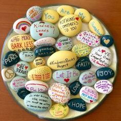 Diy painted rocks ideas with inspirational words and quotes (61)