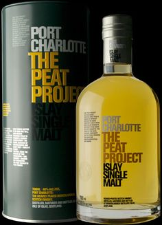 """""""What would happen if we used our tall, long-necked Victorian stills to produce a heavily-peated spirit? The floral elegance of Bruichladdich and heavy peat - could it work? You will judge the results of this fascinating - and ongoing - mission for yourselves: the Port Charlotte Peat Project."""""""
