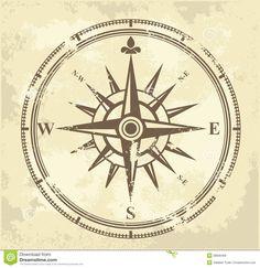 Vintage Compass   Vintage compass