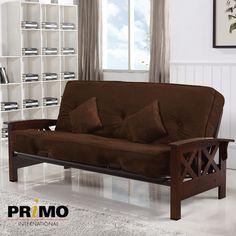 Oregon Futon  #futon  #couch  #sofa  #primointl Futon Couch, Small Space Solutions, Small Spaces, Oregon, Furniture, Home Decor, Decoration Home, Room Decor, Small Space