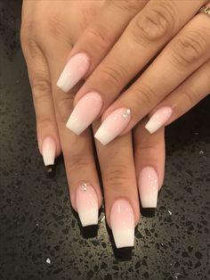 Best summer nails 40 summer nails for 2019 . - Best summer nails 40 summer nails for 2019 # nail # nail inspiration - Nails Polish, Aycrlic Nails, Hair And Nails, Coffin Nails Ombre, Summer Acrylic Nails, Best Acrylic Nails, Summer Nails, Acrylic Art, Nagellack Design