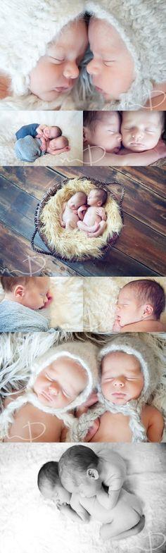 Newborn Twins - Molly Dockery Photography, Asheville, NC
