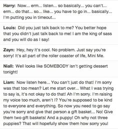 One Direction as parents