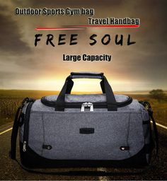 489632a74907 2018 Limited Gym Bag Durable Multi-function Handbag. Travel HandbagsTravel  BagsMens ...