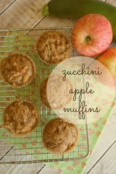 Apple Zucchini Muffins, Muffins Blueberry, Omlet Muffins, Scd Recipes, Whole Food Recipes, Cooking Recipes, Easy Cooking, Paleo Baking, Gluten Free Baking