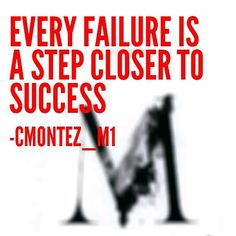 #Failure comes easy. It's the continued pursuit of #success that proves you have what it takes.