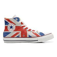 Converse All Star personalisierte Schuhe (Handwerk Produkt) mit US-Flagge - size EU46 - http://on-line-kaufen.de/make-your-shoes/46-eu-converse-all-star-personalisierte-schuhe-us-2