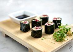 Veggie Sushi w/ Sunflower Miso Paste