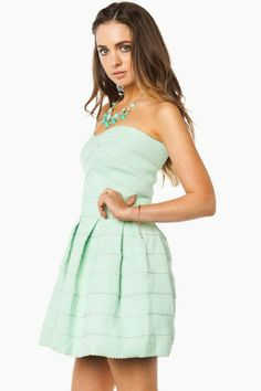 Maldonado Dress in Mint