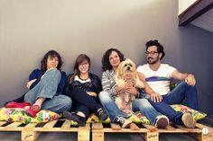 pallets + pillows // Casa Aberta