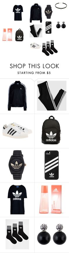 """Adidas Love This"" by kaka2003 ❤ liked on Polyvore featuring adidas Originals and adidas"
