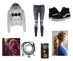 """""""Untitled #39"""" by dancer9832 ❤ liked on Polyvore featuring J Brand, Vans and Dolce&Gabbana"""