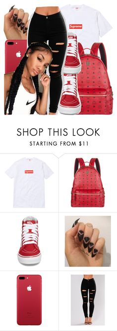 """""""Untitled #128"""" by bxby-girl-rielle ❤ liked on Polyvore featuring MCM and Vans"""